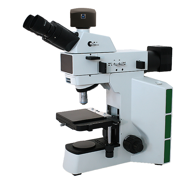 IMA/USP 788 microscope that meets standards for particulate matter in injections with digital camera and software.