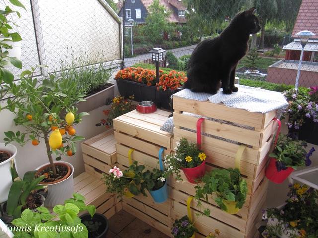Garten fur katzen ausbruchsicher machen kreative ideen for Feuerstelle garten mit balkon absturzsicherung katzen