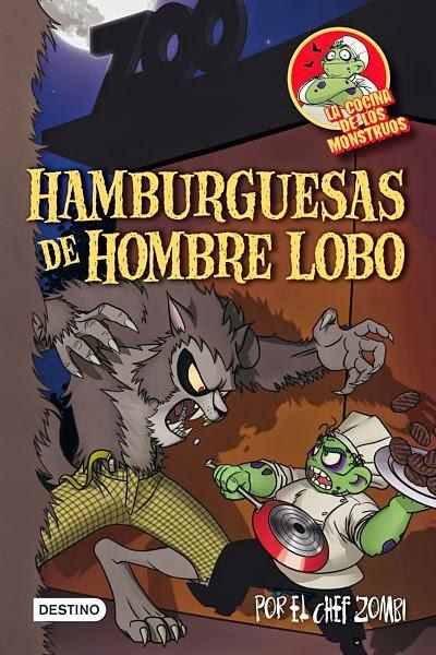 Hamburguesas de hombre lobo (La cocina de los monstruos 3)
