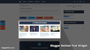 Simple Blogger Related Posts Widget With Thumbnail