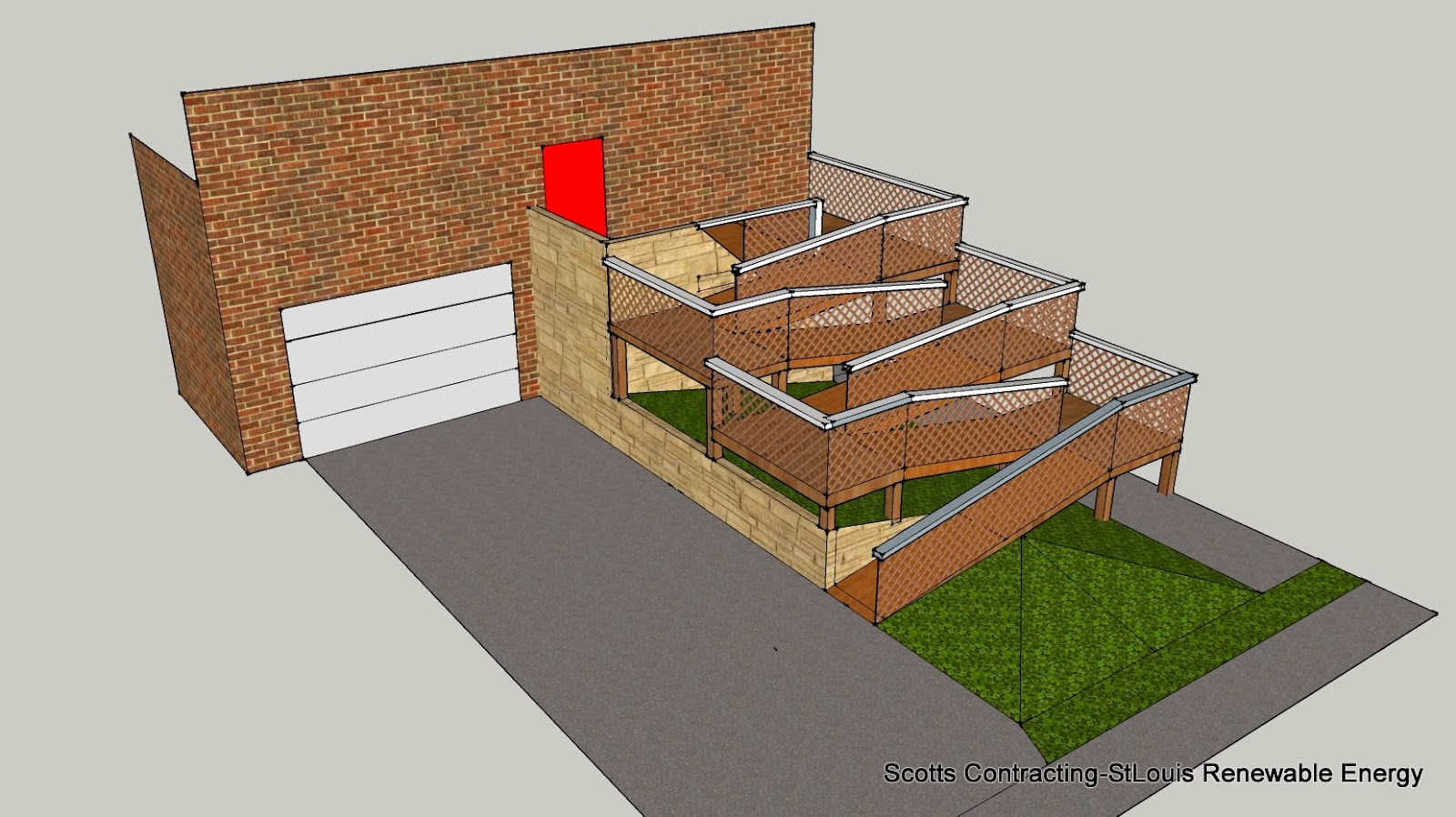 StLouis Renewable Energy: Design-Build ADA Wheelchair Ramp-
