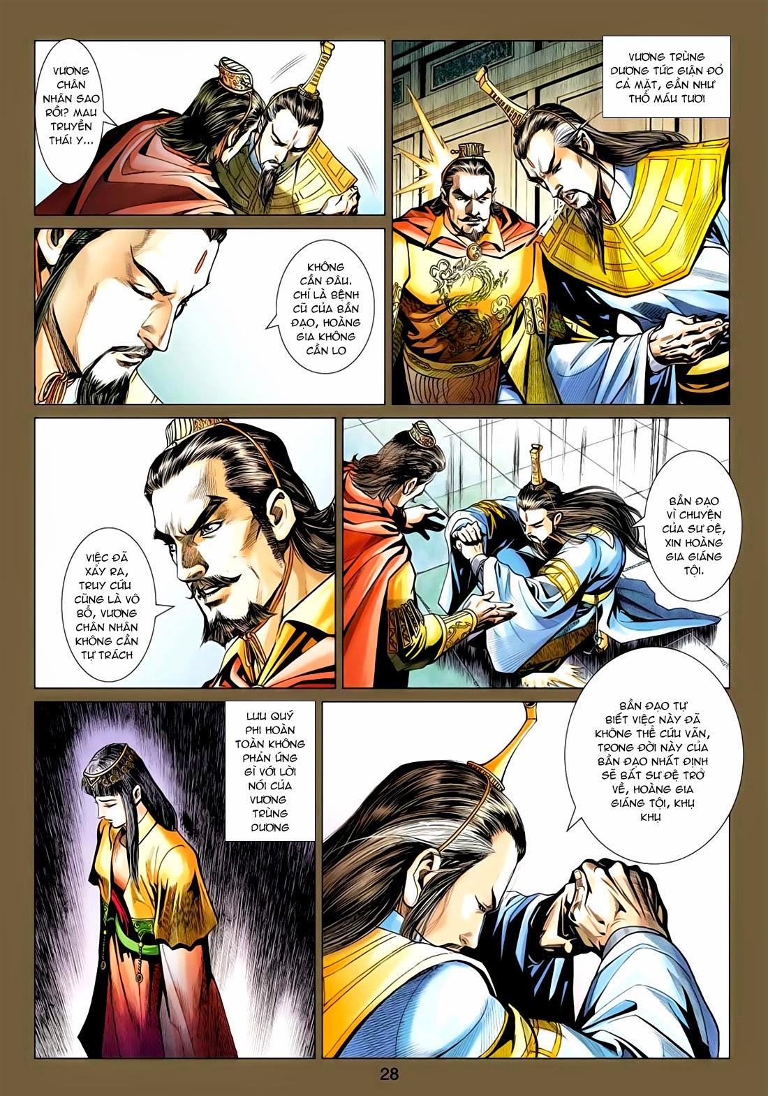 Anh Hùng Xạ Điêu anh hùng xạ đêu chap 77: thế thượng tối cường võ công trang 28