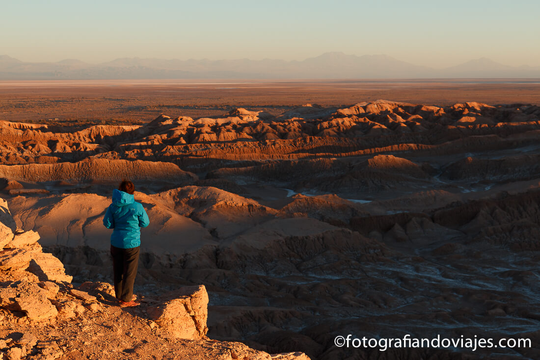 Valle de la Luna desde la Roca del Coyote o mirador de Kari