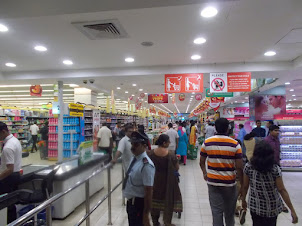 "Tuesday(8-3-2016) :- ""Lulu Mall"" , the biggest mall in India."