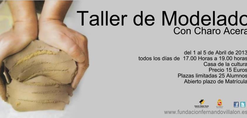 El taller de Charo Acera: Taller de Modelado con Charo Acera, en ...