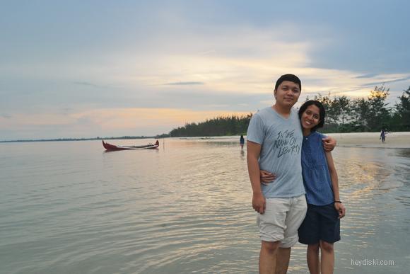 anniversary di pantai belitung