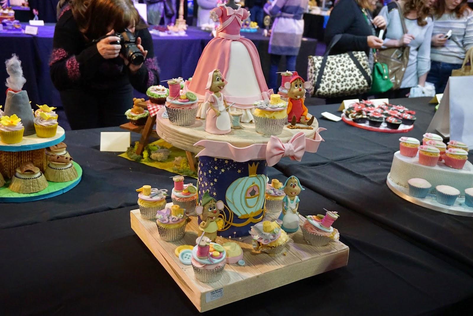 Cake International Show Manchester 2015 Cinderella Cupcakes