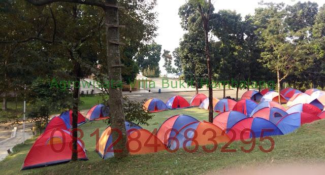 Paket Kemping Keluarga di Agrowisata Bukit Hambalang