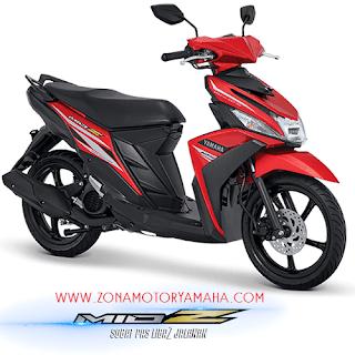 Harga Kredit Motor Yamaha Mio Z Dp Murah serta banyak bonusnya untuk wilayah Jakarta, Tangerag, Depok, Bekasi dan Bogor.