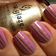 Gold & Pink Stripes