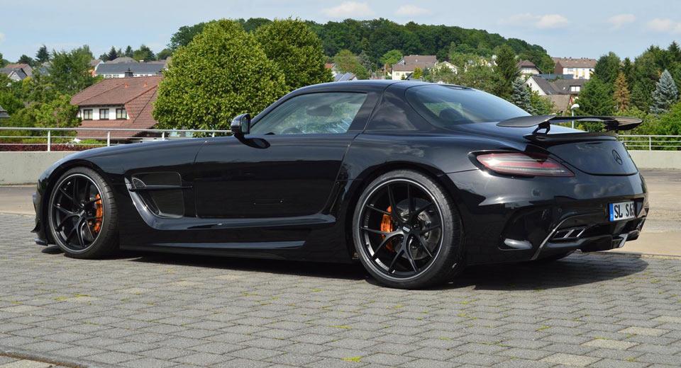 Carscoops  Mercedes SLS AMG