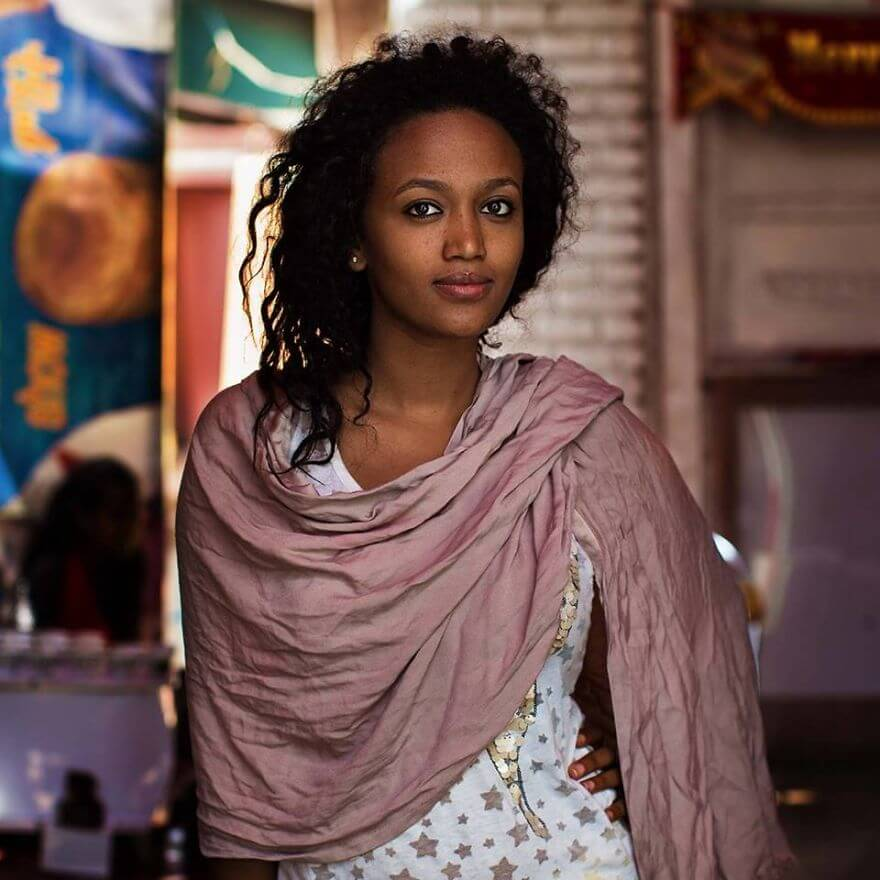 This Photographer Took Pictures Of Women From All Over The World. You'll Be Amazed By Their Beauty And Uniqueness! - Ethiopia