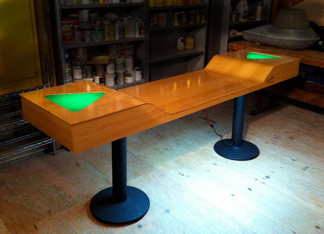 Custom Light Up Beer Pong Tables Add A Little Taste To The