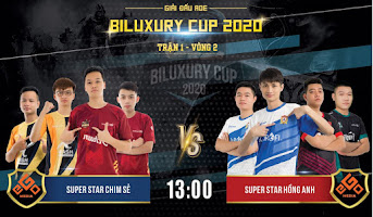 AoE Biluxury Cup | SuperStar CSDN vs SuperStar Hồng Anh | 4vs4 Random | 21/11/2020