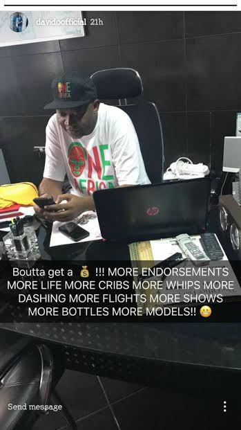 Davido Happy About New MONEY MAKING Deal