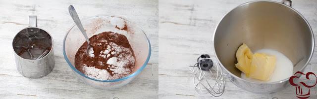 receta de torta de chocolate y avellanas