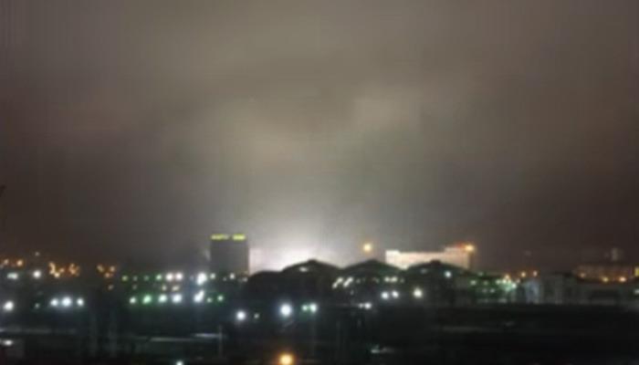 Captan en vídeo un extraño ojo en el cielo de Chelyabinsk, Rusia Ojo