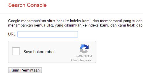 cara submit url artikel ke google dengan mudah