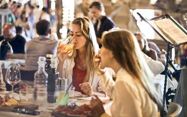 Belum lama makan ataupun minum