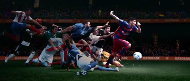 Gatorade recurre a Messi para su nueva campaña