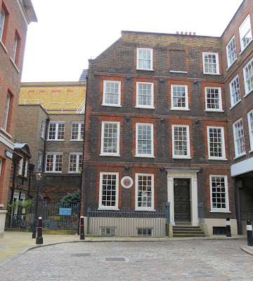 Dr Johnson's House Museum, 17 Gough Square, London Photo © Andrew Knowles