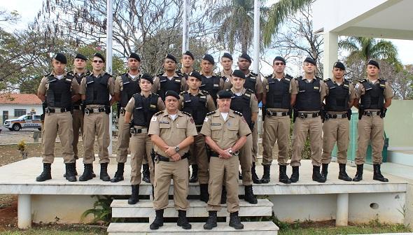 Cadetes da Policia Militar