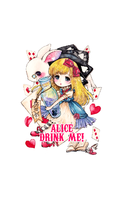 Alice Drink Me!