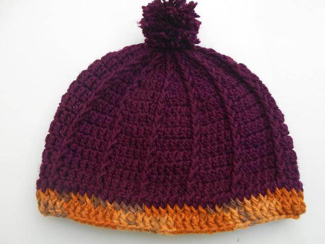 Crochet Crosia Free Patttern With Video Tutorials Crochet Slouch Hat