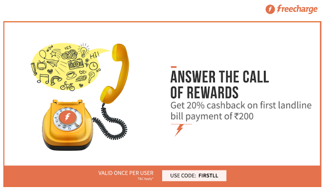 freecharge firstll