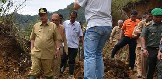 Wagub Nasrul Abit Kunjungi Dusun Boriay Mentawai