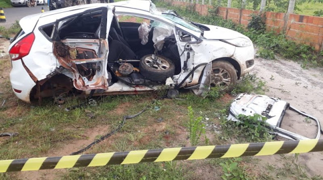 Professor morre em grave acidente envolvendo dois veículos na PI-113