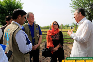 World Food Programme Visit to SRSP FATA Projects