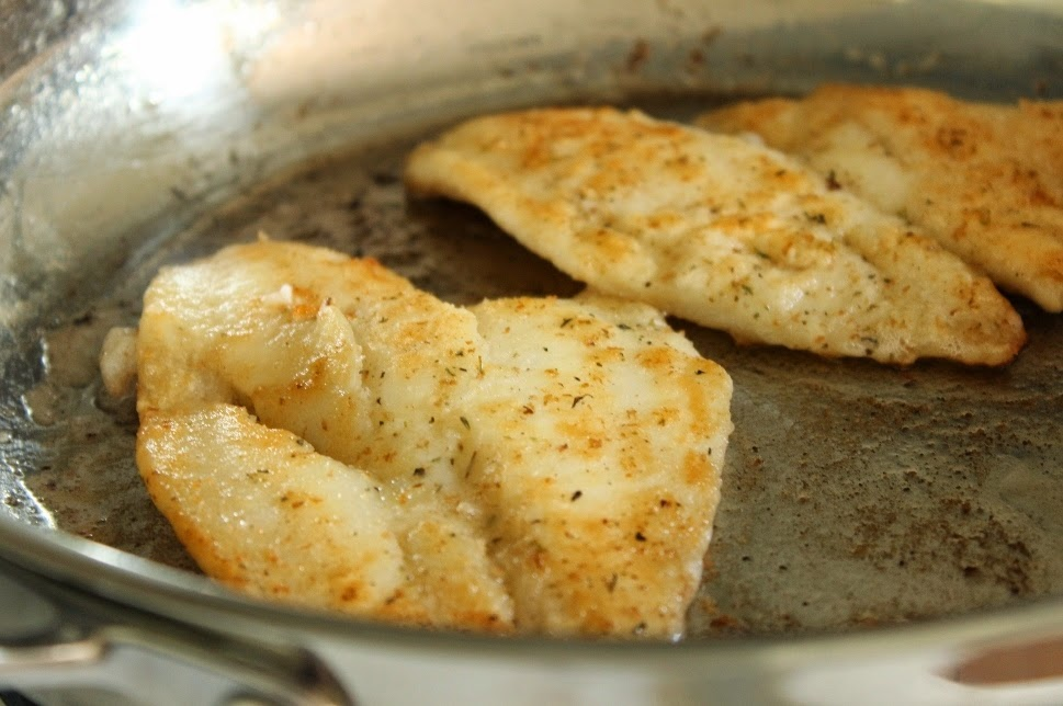 The cook a palooza experience how to pan fry fish fillets for How to cook fish fillet