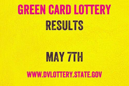 GREEN CARD LOTTERY RESULTS FOR DV 2020 - CHECK YOUR STATUS