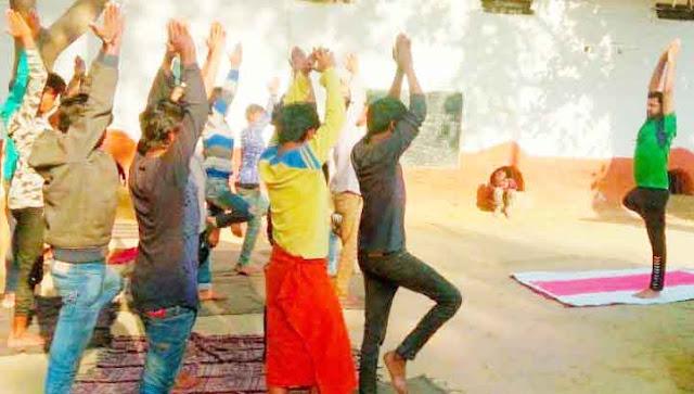 Yoga practice for prisoners in Prayagraj Naini jail: Yogi Abhirath Singh