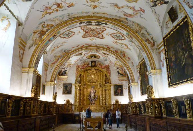 Sacristía del Monasterio de Yuso.