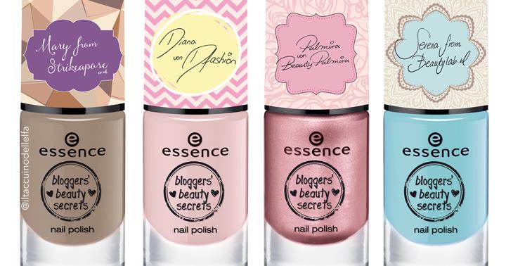 Essence Cosmetics collezione Bloggers Beauty Secrets - Anteprima