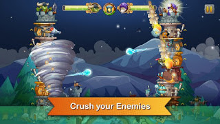 Tower Crush Mod v1.1.4 Apk+Data Full Terbaru