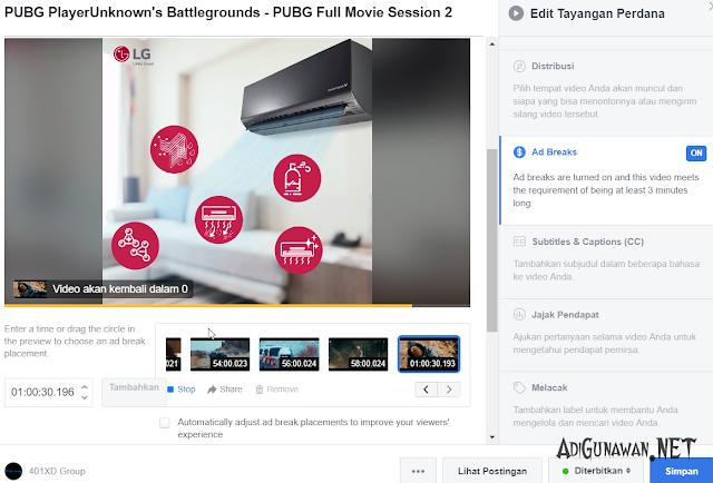 Optimasi Monetize Video Facebook