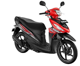 Suzuki Address Warna Stronger Red