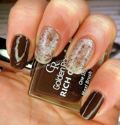 czekoladowy lakier do paznokci