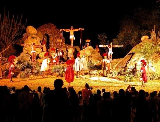 crucificação na paixão de cristo