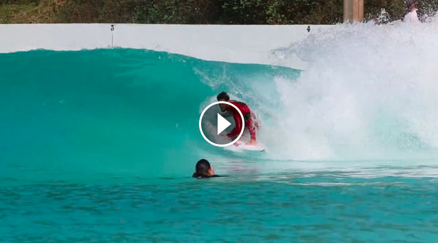 Filipe Friends Surf the Wavegarden Cove