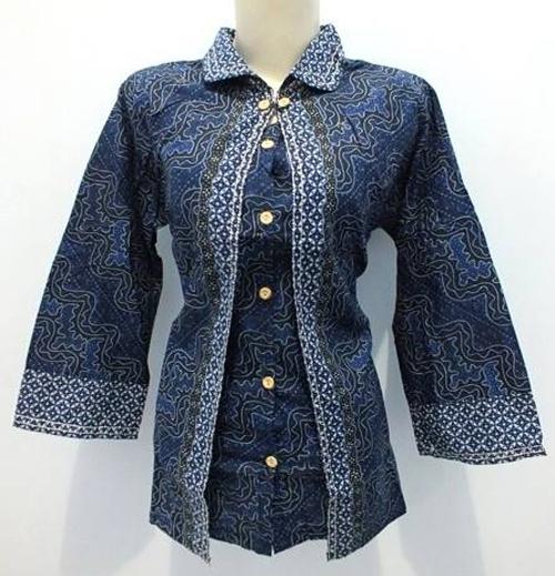 model baju sasirangan untuk kerja