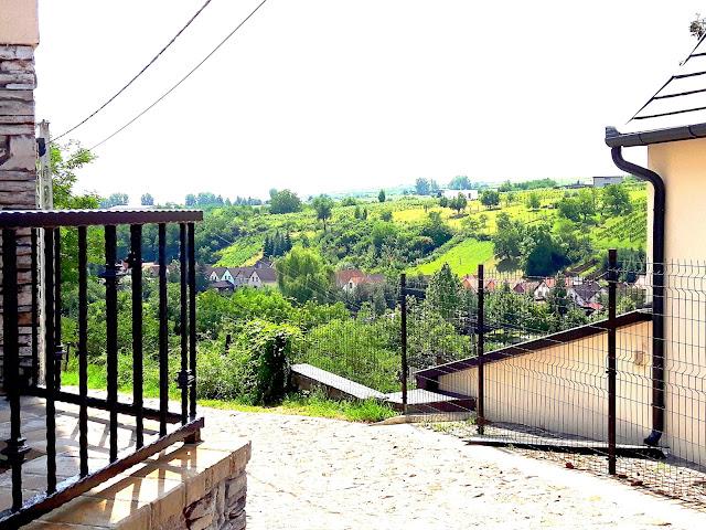 Nasz Pierwszy Poranek w Eger w Dolinie Pięknej Pani Czyż Nie Jest Pięknie?