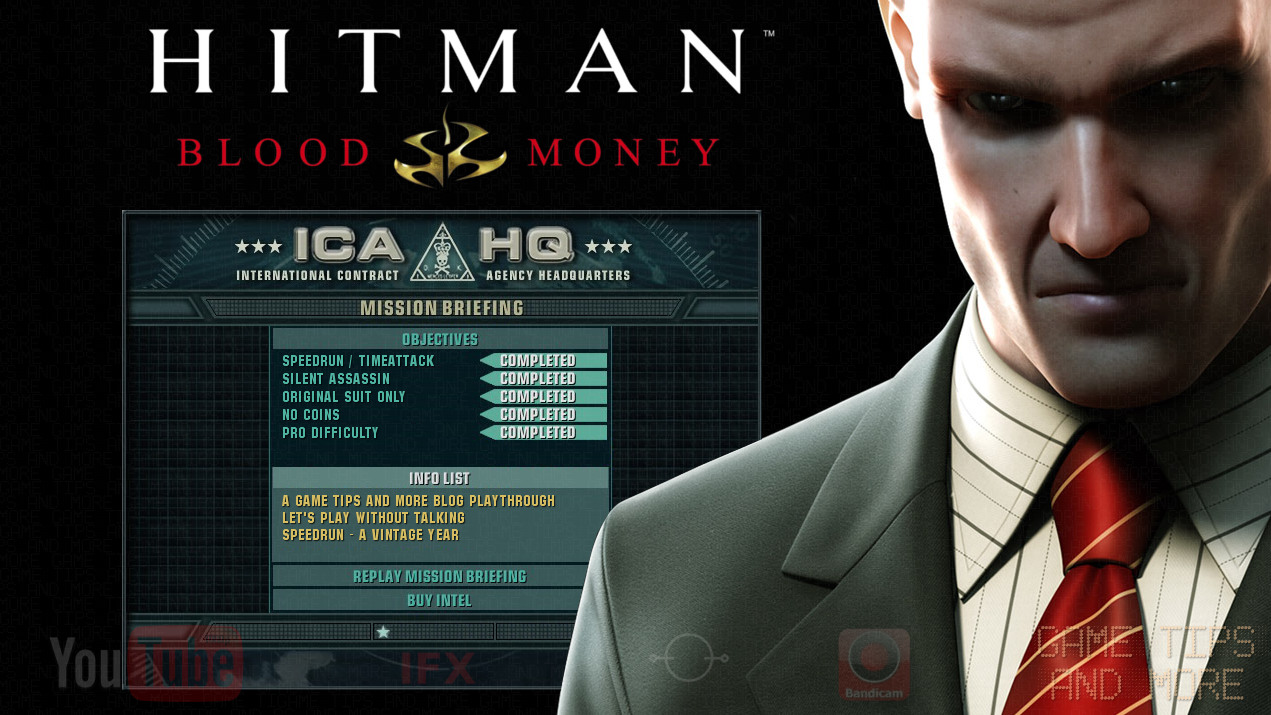 Hitman Blood Money Trophy Guide •