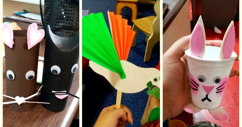 Best Out Of Waste Craft Ideas