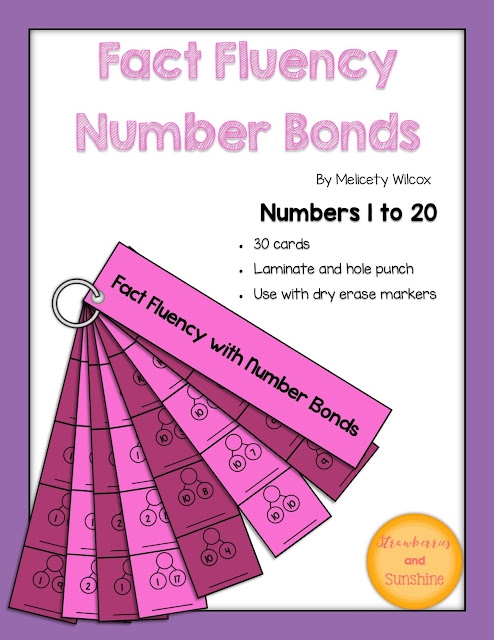Math Fact Fluency Number Bonds