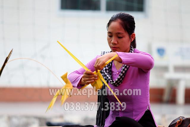 Xếp lá dừa cho Khóa luận tốt nghiệp Hồn Quê Nam Bộ