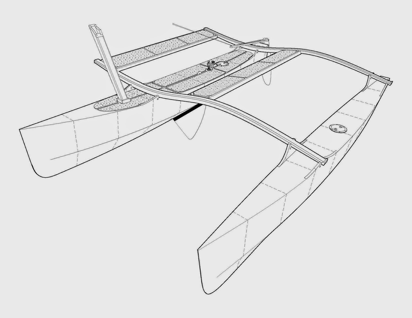 Outrigger Sailing Canoes Outrigger Junior Kits Almost Ready